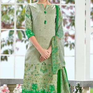 Buy Alok Rangoon Pure Zam Cotton With Exclusive Hand Mirror Suit 207005