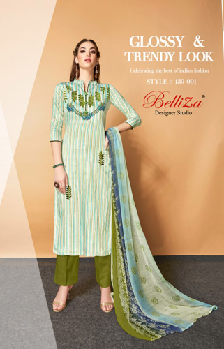 BelliZa Designer Studio Presents Adaa Salwar Suit 139-001