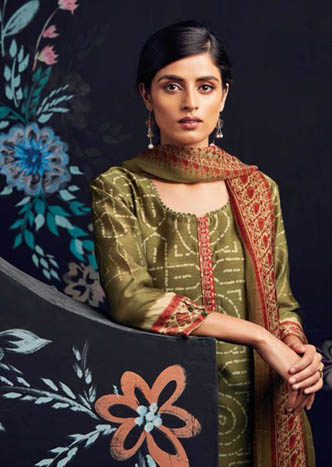Buy Ganga Anoma Digital Printed Salwar Suits 6234