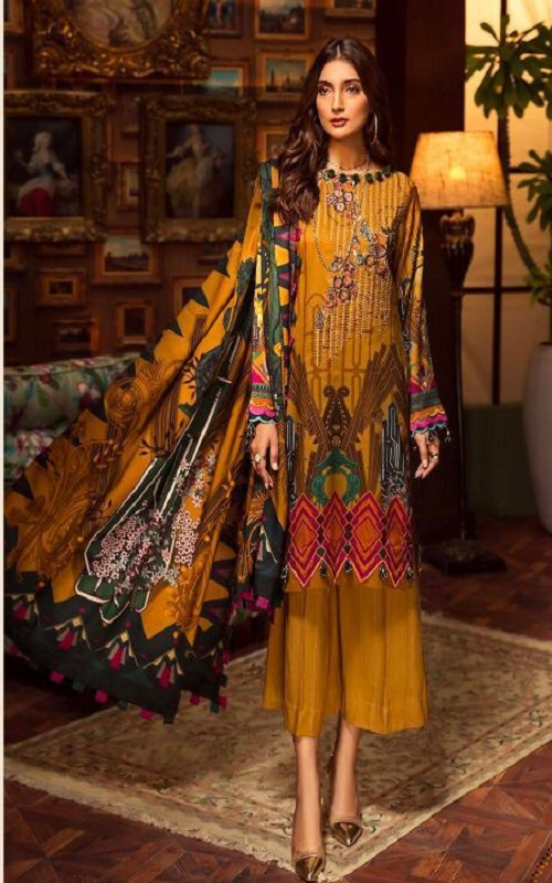 Buy-Shraddha-Designer-Noor-2-Pure-Lawn-With-Heavy-Embroidery-Salwar-Suit-2001