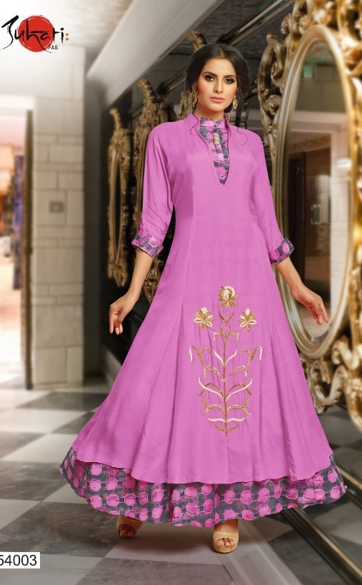Buy Suhati Fab Myra Vol 5 Gowns Collection 54003