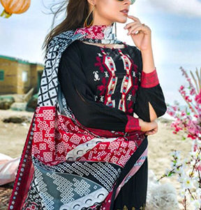 Buy Fepic Rosemeen Rimzim Cotton With Unstitched Salwar Kameez 1004