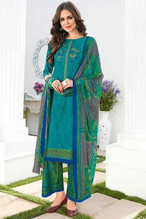 Kalakriti Summer Special Lawn Cotton Printed With Embroidery Suits 7007