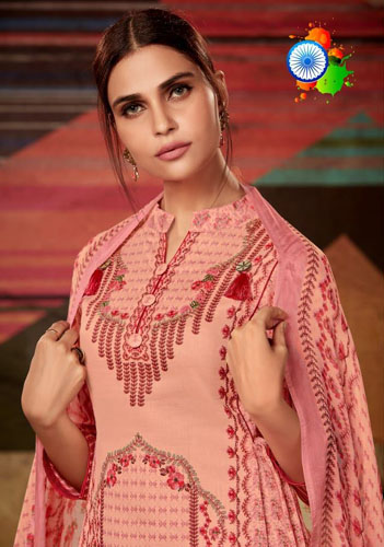 Kalki Matsya Jaam Silk Salwar Suits 1003