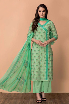 Buy Rivaa Tarana Vol-2 Cotton Print Work Salwar Suits 963 A