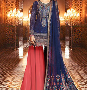 Buy Shree Fabs Mbroidered Maria B Vol 4 Salwar Suits 1132