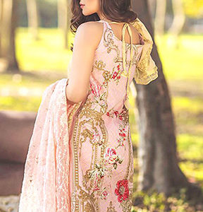 Buy Shree Fabs Sana Safinaz Cotton Embroidery Suits 104