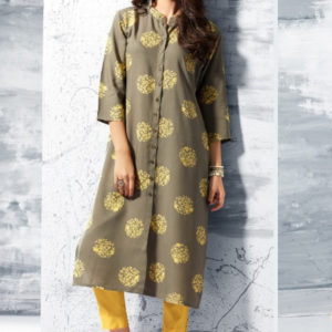 The Zest in You Sheena Summer Designer Kurti 1001