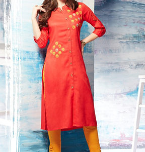 TZU Gracy Summer 2018 Embroidery Designer Kurti 1002
