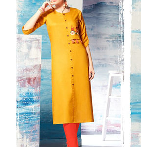 TZU Gracy Summer 2018 Embroidery Designer Kurti 1004