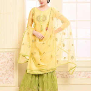 Buy Your Choice Adaa Jam Silk Cotton Semi Stitched Suits 2956