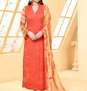 Your Choice Dinnar Vol 19 Pure Chiffon Embroidery Salwar Suit 2872